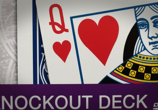 Bicycle knockout deck купить