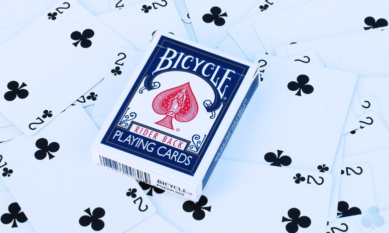 Bicycle One Way Forcing Deck